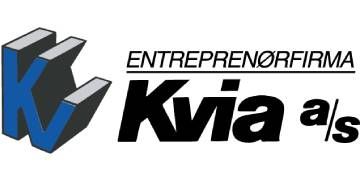 Entreprenørfirmaet Kvia AS logo