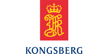 Kongsberg Defence & Aerospace logo