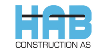 HAB Construction As logo