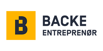 Backe Entrepenør AS logo