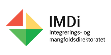 Integrerings- og Mangfoldsdirektoratet (IMDI) logo