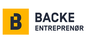 Backe Entreprenør AS logo